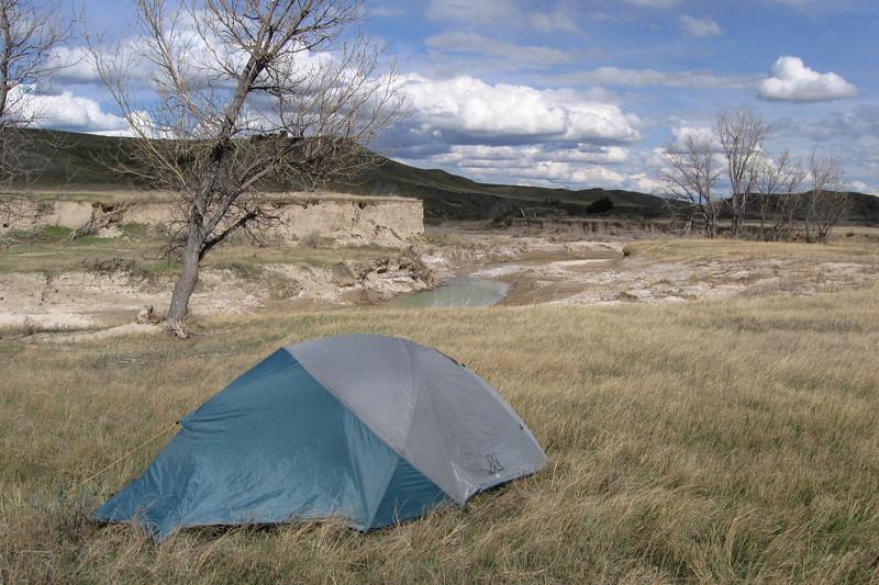 Badlands National Park -- Badlands (Sage Creek)  Wilderness Area (5-4 to 5-5-11)