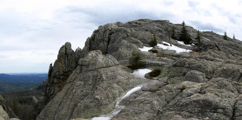 Harney Peak (south summit) - 7,200'