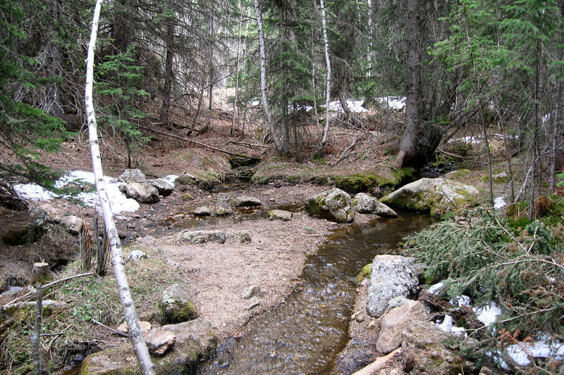Lost Cabin Creek - 6,230'