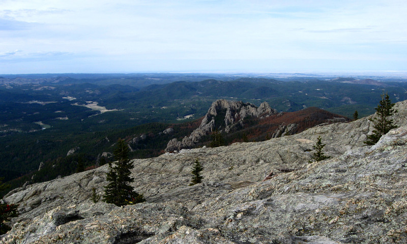 Harney Peak (south summit) - 7,230'