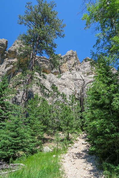 Cathedral Spires/#4 Trail -- 6,230'