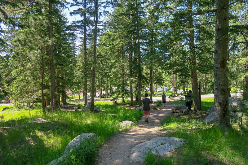 Cathedral Spires/#4 Trailhead (Sylvan Lake) -- 6,200'