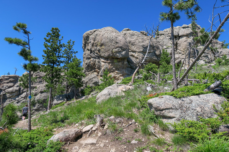 Little Devils Tower/#4B Trail -- 6,800'