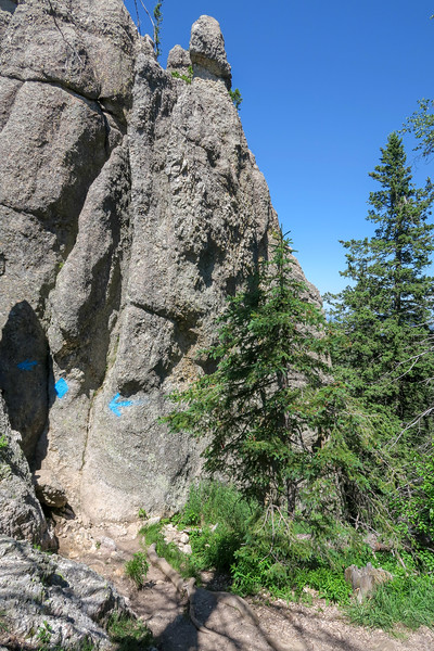 Little Devils Tower/#4B Trail -- 6,870'