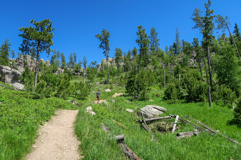 Cathedral Spires/#4 Trail -- 6,580'