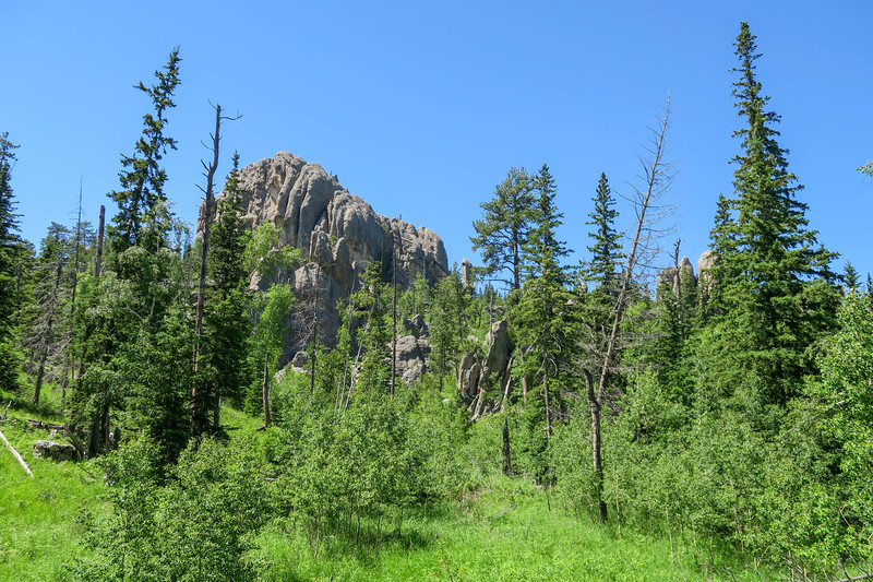 Cathedral Spires/#4 Trail -- 6,340'