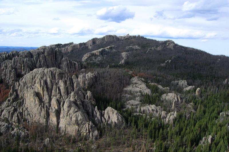Little Devil's Tower Summit - 6,971'