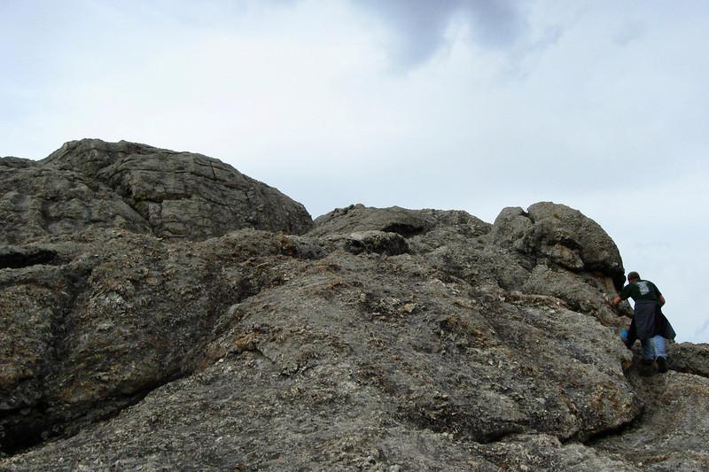 Little Devil's Tower Summit Spur - 6,940'