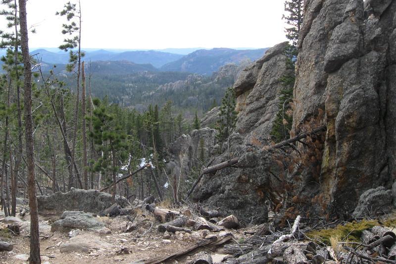 Little Devil's Tower Summit Spur - 6,850'