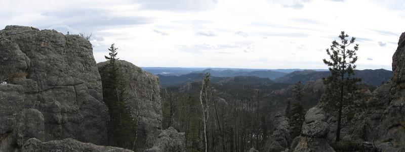 Little Devil's Tower Summit Spur - 6,900'