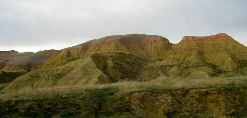The Yellow Mounds...