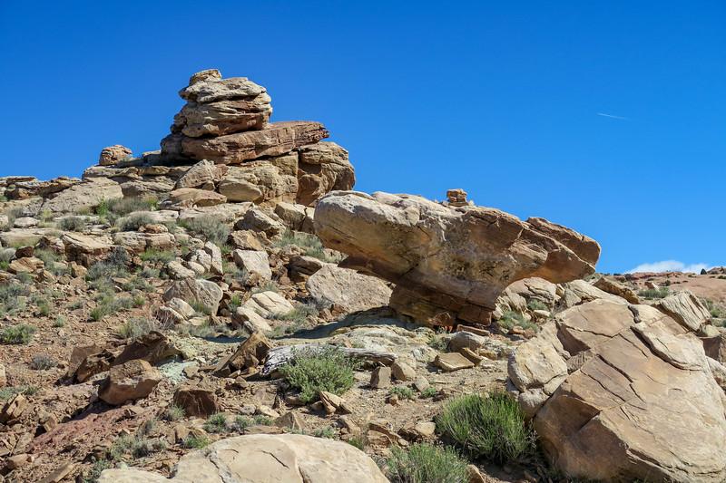 Delicate Arch Trail-- 4,350'