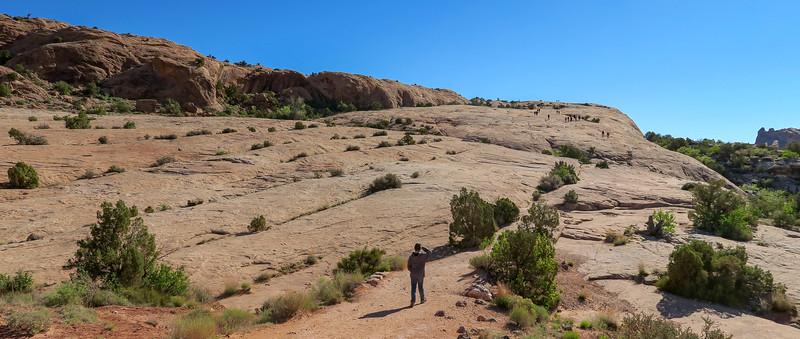 Delicate Arch Trail-- 4,380'