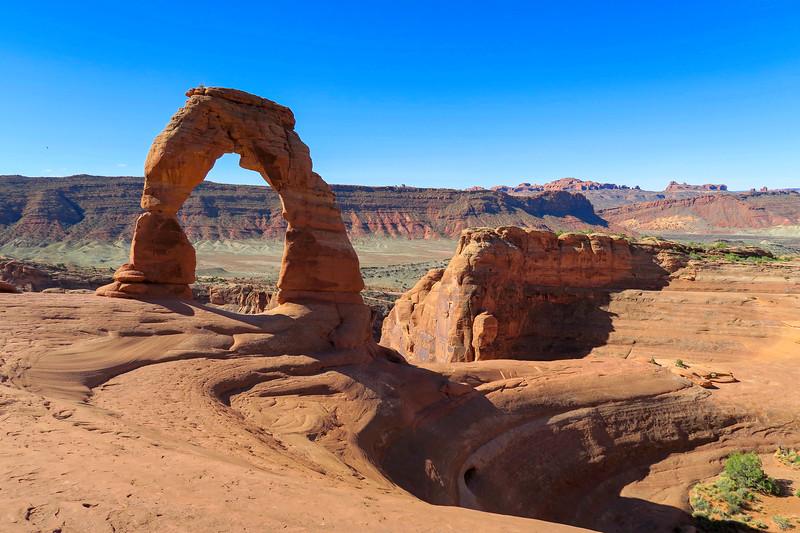 Delicate Arch-- 4,850'