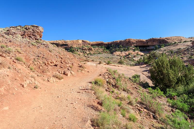 Delicate Arch Trail-- 4,340'