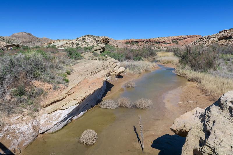 Delicate Arch Trail-- 4,300'