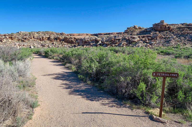 Petroglyphs Spur-- 4,300'