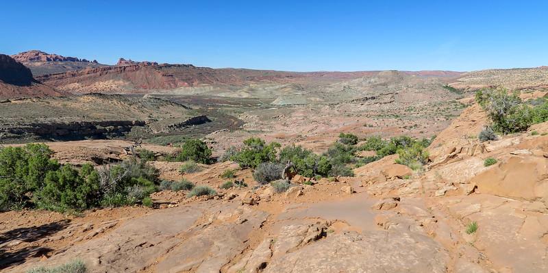 Delicate Arch Trail-- 4,600'