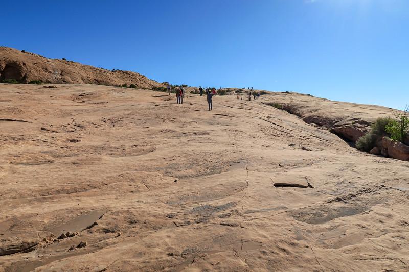 Delicate Arch Trail-- 4,480'