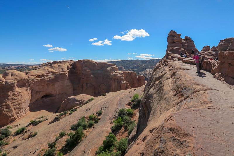 Delicate Arch Trail-- 4,850'