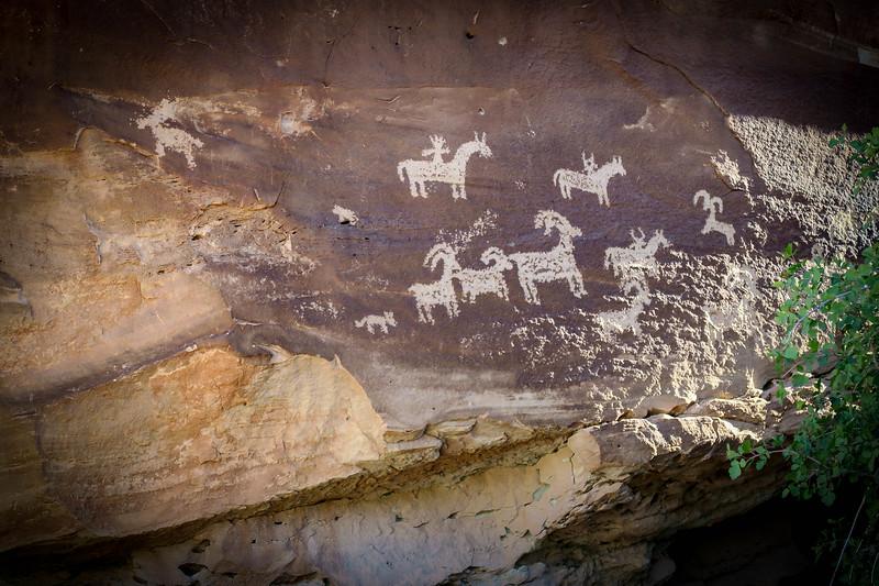 Ute Petroglyphs-- 4,320'