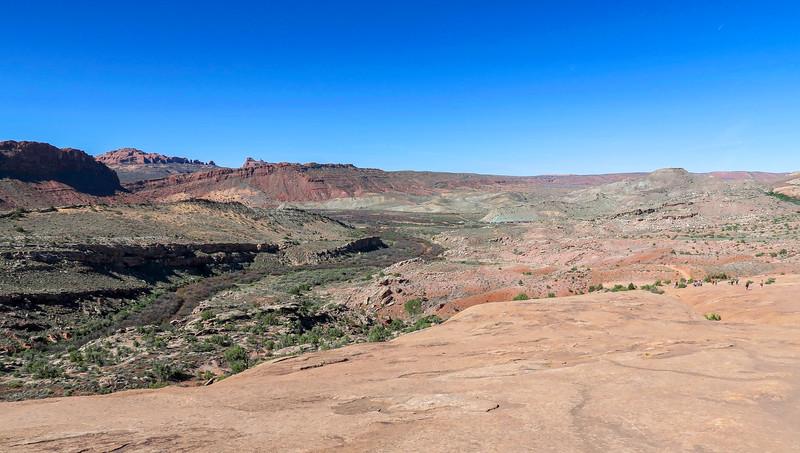 Delicate Arch Trail-- 4,550'