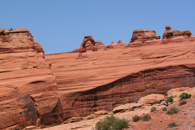 Delicate Arch Trail - 4,560'