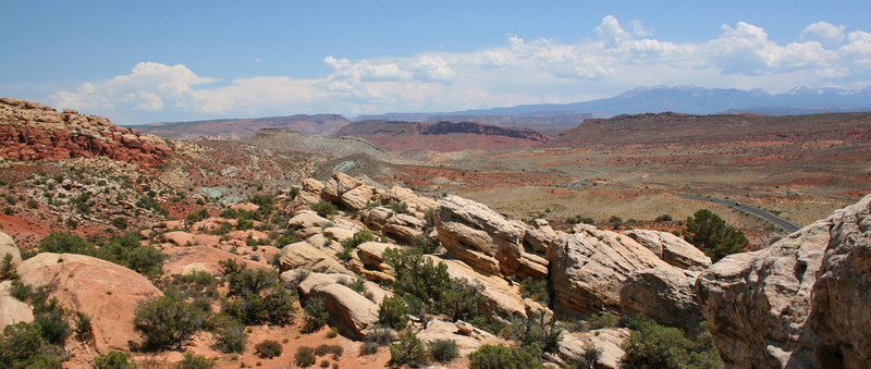 Salt Valley & Fiery Furnace - 4,500'