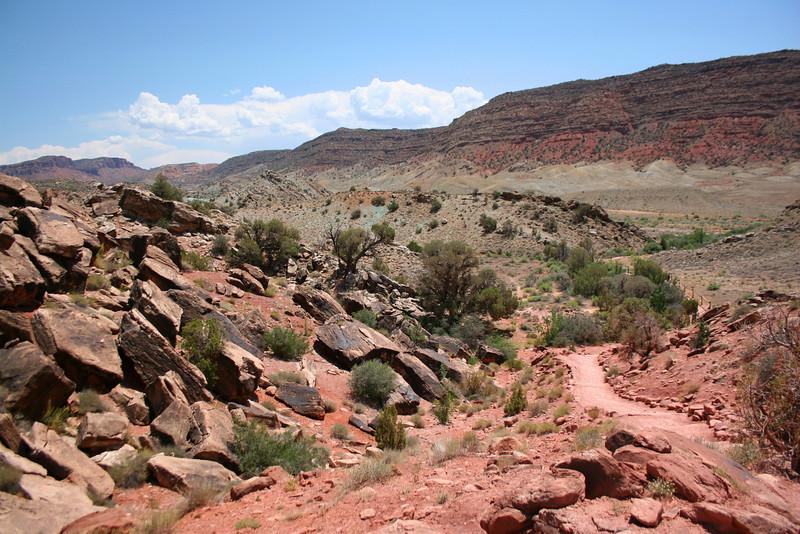 Delicate Arch Trail - 4,500'