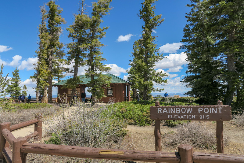 Rainbow Point -- 9,115'