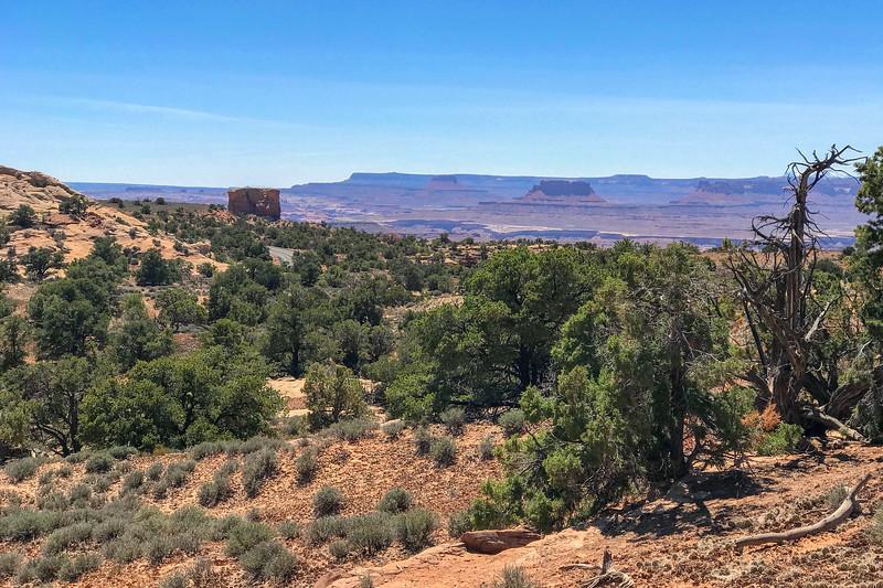 Mesa Arch Trail -- 6,180'