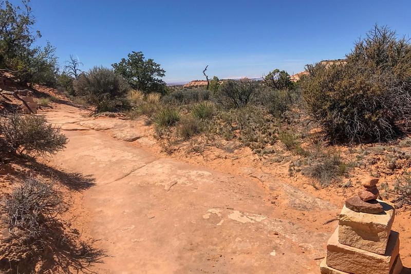 Mesa Arch Trail -- 6,160'