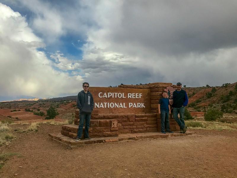 Capitol Reef National Park -- West Entrance -- 6,400'
