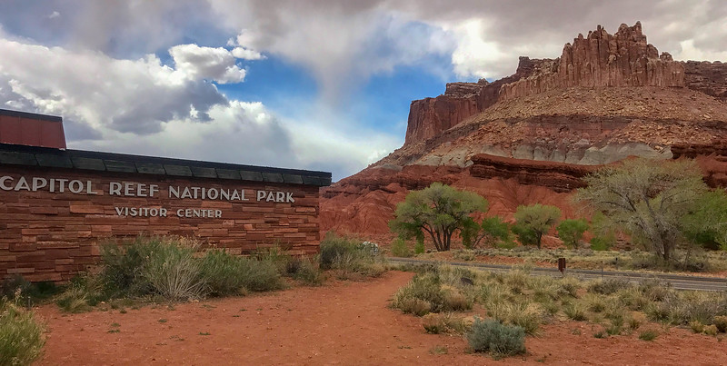 Capitol Reef National Park Visitor Center -- 5,500'