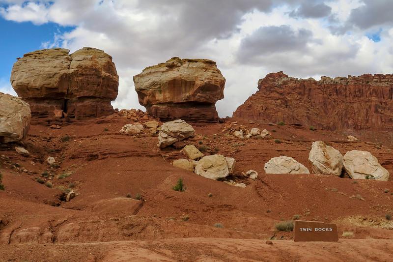 Twin Rocks -- 6,200'