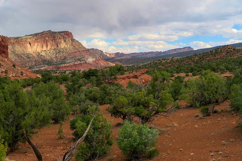 Scenic Drive -- Slick Rock Divide -- 6,000'