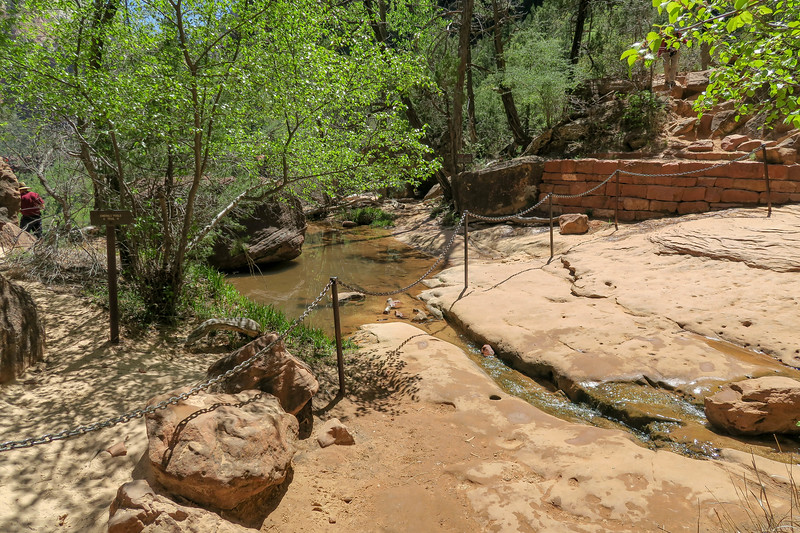Middle Emerald Pool Trail  -- 4,380'