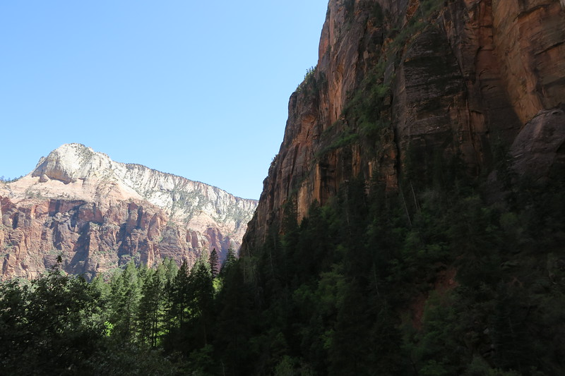 Upper Emerald Pool Trail  -- 4,700'