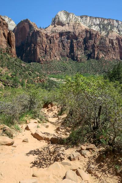 Upper Emerald Pool Trail  -- 4,440'