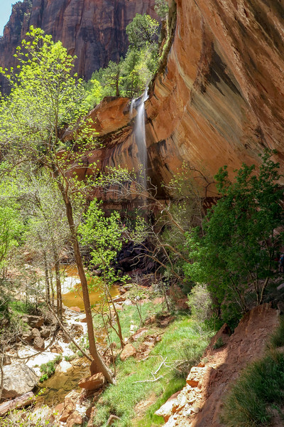 Lower Emerald Pool  -- 4,350'