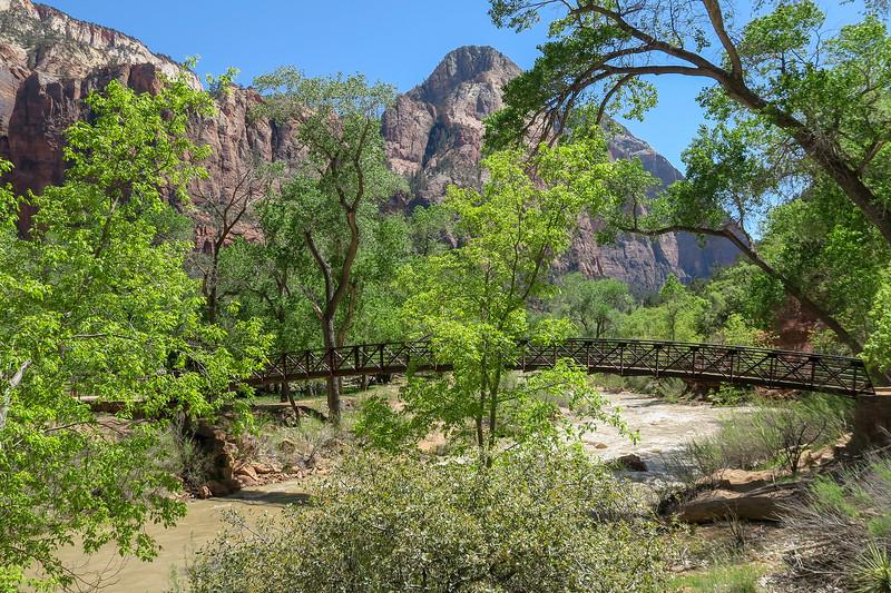 Lower Emerald Pool Trail  -- 4,250'