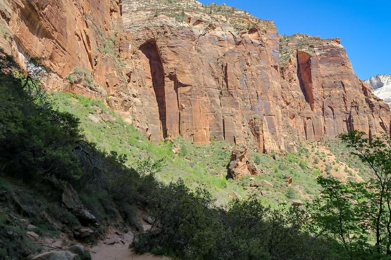 Upper Emerald Pool Trail  -- 4,480'