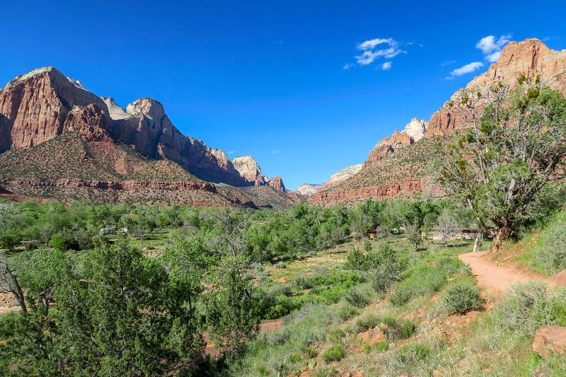 Watchman Trail -- 4,000'