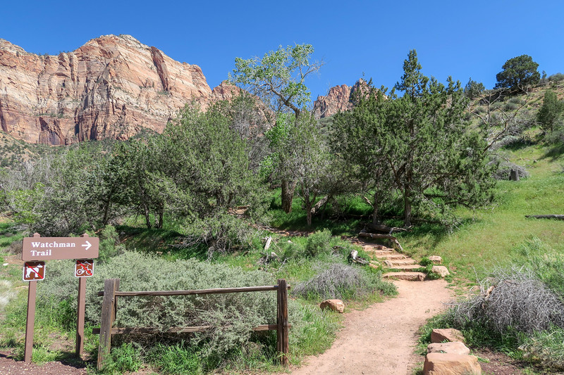 Watchman Trail -- 3,950'