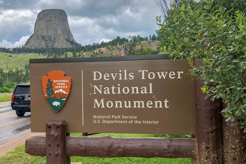 Devils Tower National Monument -- 3,860'