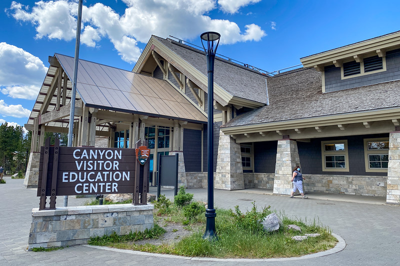 Canyon Visitor Education Center -- 7,930'