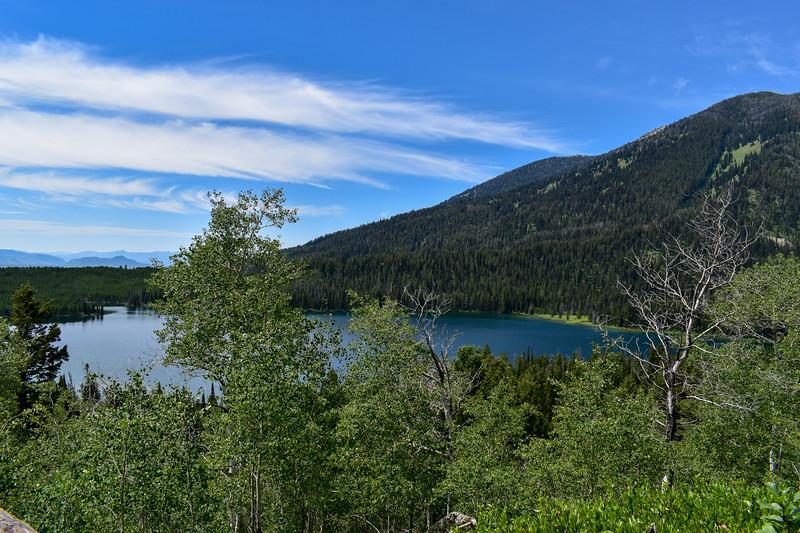 Bradley Lake Trail -- 7,120'