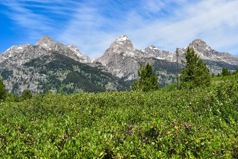 Taggart Lake Trail -- 6,900'