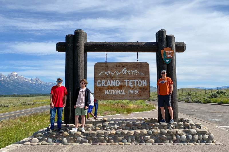 Grand Teton National Park South Entrance -- 6,420'