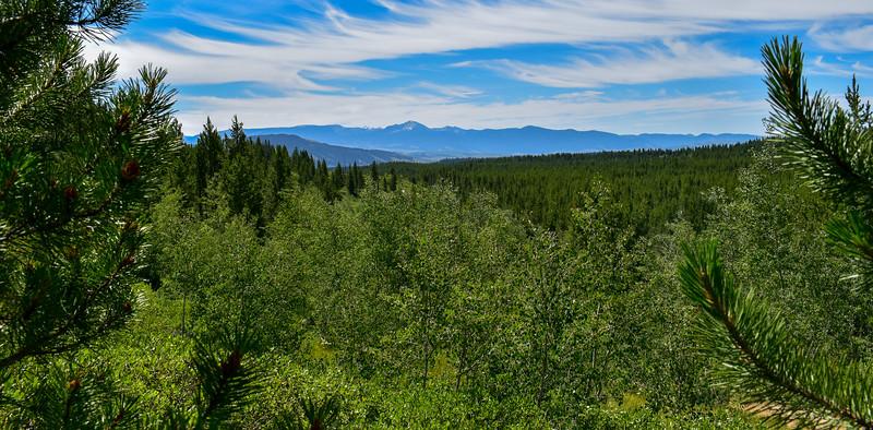 Bradley Lake Trail -- 6,960'